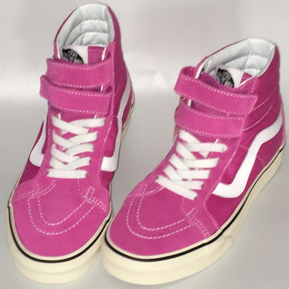 a9a2bdfd0a40f1 VANS sz 9 W 7.5 M SK8-Hi Raspberry high top shoes
